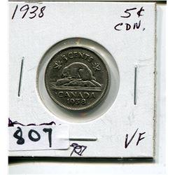 1938 CNDN NICKEL