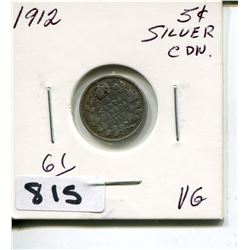 1912 CNDN SMALL SILVER NICKEL