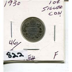 1930 CNDN SILVER DIME