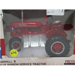 FARMALL B BLUE RIBBON SERVICE TRACTOR
