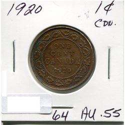 CANADA LARGE PENNY 1920