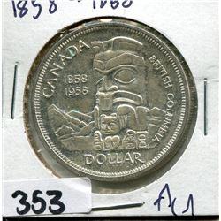 CANADA SILVER DOLLAR 1858-1958