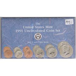 1991 US MINT UNCIRCULATED SPECIMEN SETS