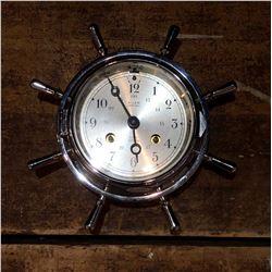 Salem German Ships Bell Nautical Clock