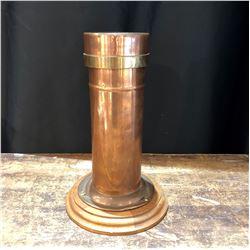 Vintage Solid Copper Rain Catcher