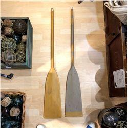 Pair of Wood Oars