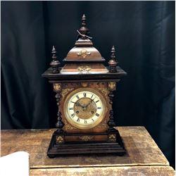 Antique Junghans German Bracket Clock c. 1905