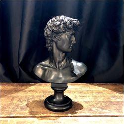 Vintage MCM Plaster Statue of David