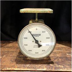 Vintage Hanson USA Scale 1000 gram