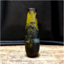 Reproduction Emile Galle Art Nouveau Style Vase
