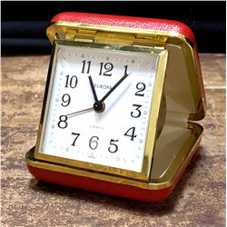 Vintage German Europa Travel Clock