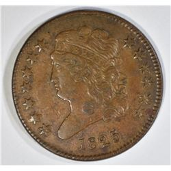 1825 HALF CENT, AU
