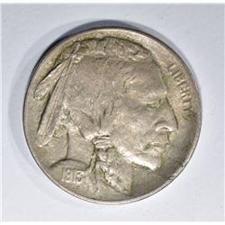 1913-D BUFFALO NICKEL, CH BU
