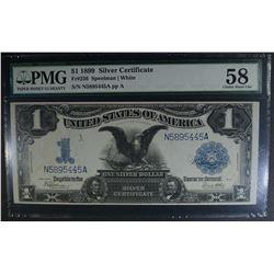 "1899 $1 SILVER CERTIFICATE ""BLACK EAGLE"""