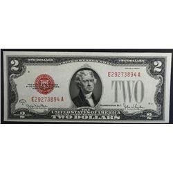 1928 G $2 LEGAL TENDER RED SEAL