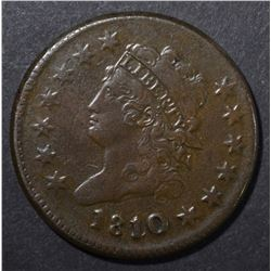 1810/09 LARGE CENT  XF