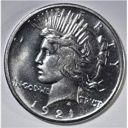 1921 PEACE DOLLAR  CH BU+