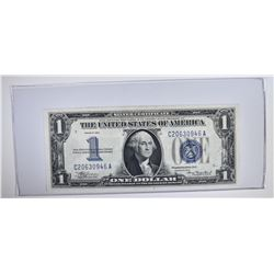 """1934 $1 SILVER CERTIFICATE """"LARGE 1 FUNNY BACK"""""""