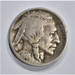 1918/7-D BUFFALO NICKEL  FINE