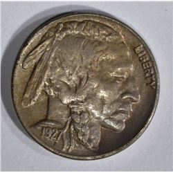 1927-S BUFFALO NICKEL  BU
