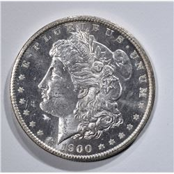 1900-O MORGAN DOLLAR  GEM BU PL