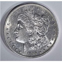 1889-S MORGAN DOLLAR  AU/UNC