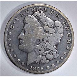 1895-O MORGAN DOLLAR  AU/UNC