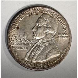 1928 HAWAIIAN COMMEM HALF AU