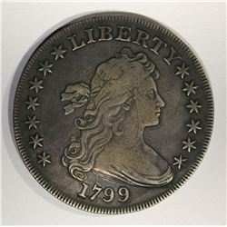 1799 BUST DOLLAR XF LIGHT SCRATCH