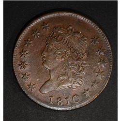 1810 CLASSIC HEAD LARGE CENT  AU/BU