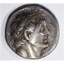 EGYPT PTOLEMY 285-246 BC SILVER COIN