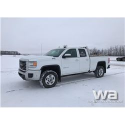 2016 GMC 2500HD  PICKUP
