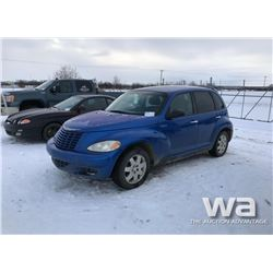 2004 CHRYSLER PT CRUISER CAR