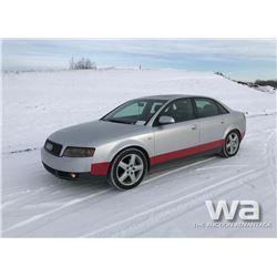 2003 AUDI A4 CAR