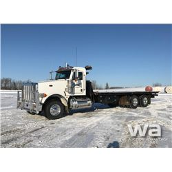 2011 PETERBILT 367 T/A ROLL OFF DECK TRUCK