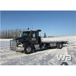 2012 KENWORTH T370 S/A ROLL BACK DECK TRUCK