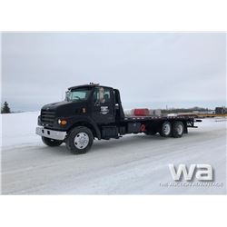 2000 STERLING ROLL OFF DECK TRUCK
