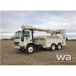 1993 FORD 8000 T/A  BUCKET TRUCK