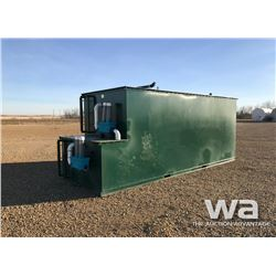 6,000 GAL. WATER TREATMENT TANK