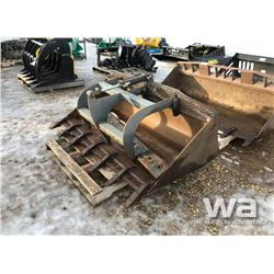 "66"" SKID STEER GRAPPLE BUCKET"