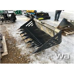 "78"" SKID STEER ROCK BUCKET"