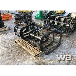 "72"" SKID STEER BRUSH GRAPPLE"