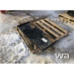 SKID STEER Q/C MOUNTING PLATE