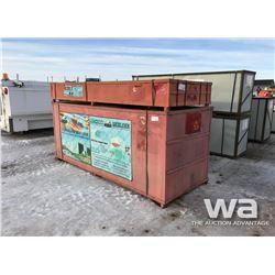 30 X 65 X 16 FT. ARCTIC SHELTER