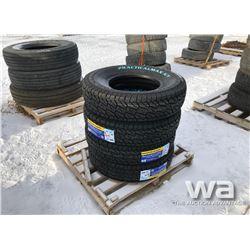 (4) PRACTICALMAX A/T LT235/85R16 TIRES
