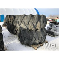 (4) FIRESTONE 30.5-32 FORESTRY SPECIAL TIRES