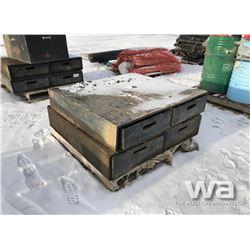(2) RAT PACK BOXES