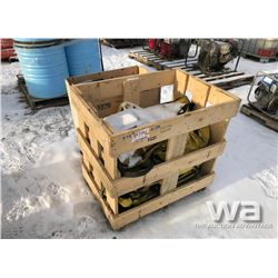 (2) CRATES OF FIRST AID KITS & SPILL KITS