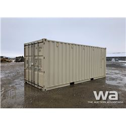 2016 8X20 FT. SHIPPING CONTAINER