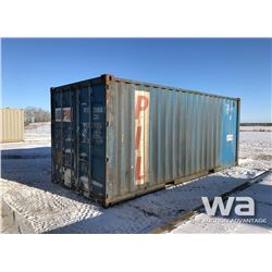2006 8X20 FT. SHIPPING CONTAINER